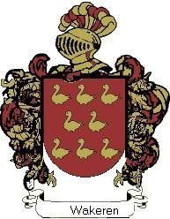 Escudo del apellido Wakeren