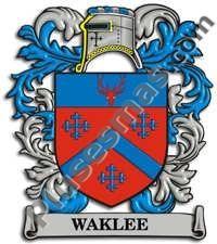 Escudo del apellido Waklee