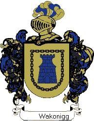Escudo del apellido Wakonigg