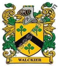 Escudo del apellido Walckier