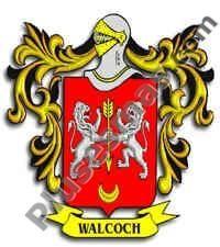 Escudo del apellido Walcoch