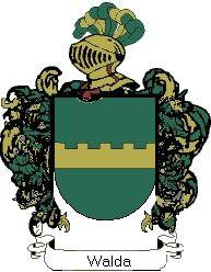 Escudo del apellido Walda