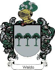Escudo del apellido Waldo