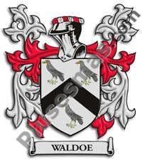 Escudo del apellido Waldoe