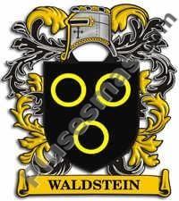 Escudo del apellido Waldstein