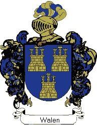 Escudo del apellido Walen