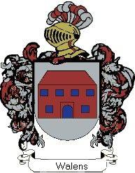 Escudo del apellido Walens