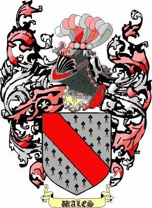 Escudo del apellido Wales
