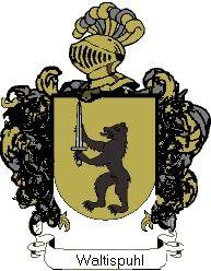 Escudo del apellido Waltispuhl