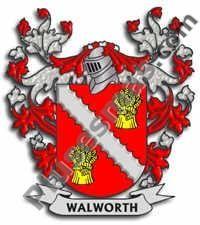 Escudo del apellido Walworth