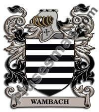 Escudo del apellido Wambach