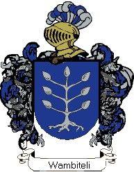 Escudo del apellido Wambiteli