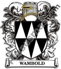 Escudo del apellido Wambold