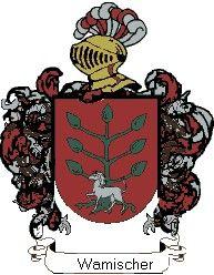 Escudo del apellido Wamischer