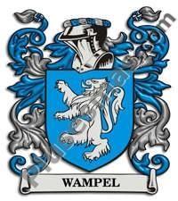 Escudo del apellido Wampel