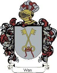 Escudo del apellido Wan