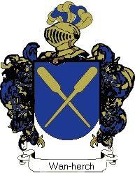 Escudo del apellido Wan-herch