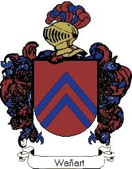 Escudo del apellido Wañart