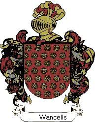 Escudo del apellido Wancells