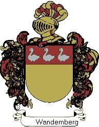 Escudo del apellido Wandemberg