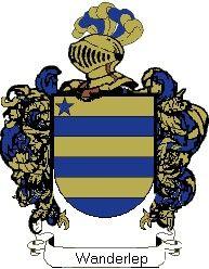 Escudo del apellido Wanderlep