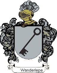 Escudo del apellido Wanderlepe