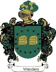 Escudo del apellido Wanders