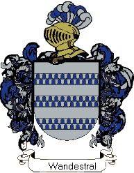 Escudo del apellido Wandestral