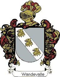 Escudo del apellido Wandevalle
