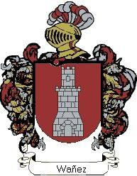 Escudo del apellido Wañez