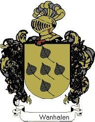Escudo del apellido Wanhalen