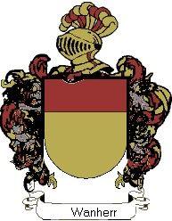 Escudo del apellido Wanherr