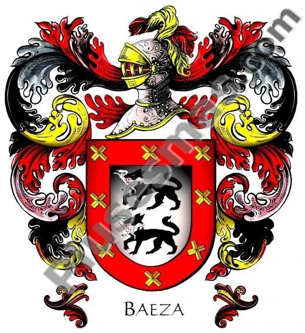 Escudo del apellido Baeza