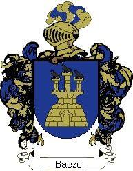 Escudo del apellido Baezo