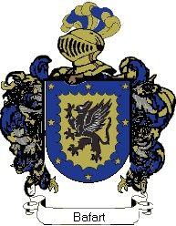 Escudo del apellido Bafart
