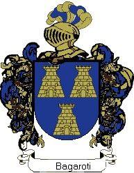Escudo del apellido Bagaroti
