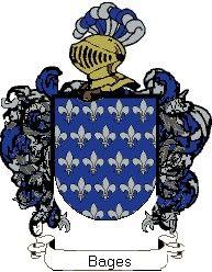 Escudo del apellido Bages