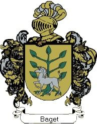 Escudo del apellido Baget