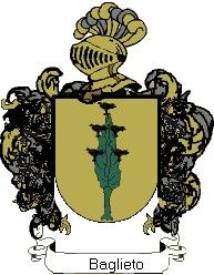 Escudo del apellido Baglieto