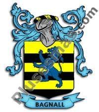 Escudo del apellido Bagnall