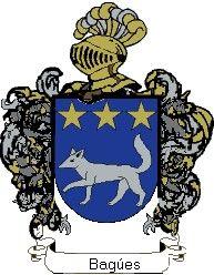Escudo del apellido Bagúes