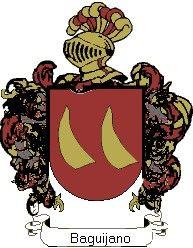 Escudo del apellido Baguijano