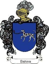 Escudo del apellido Bahina