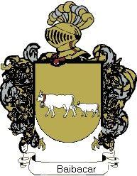 Escudo del apellido Baibacar