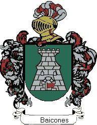 Escudo del apellido Baicones