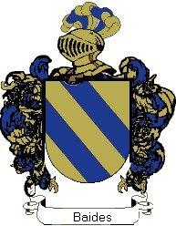 Escudo del apellido Baides