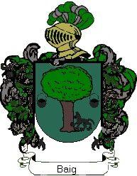 Escudo del apellido Baig
