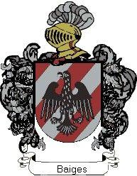 Escudo del apellido Baiges