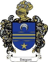 Escudo del apellido Baigorri