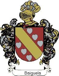 Escudo del apellido Baiguela